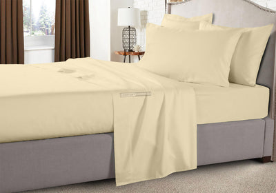 1000 TC Smooth And Durable Ivory RV Sheets