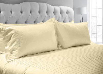 Elegent Ivory Moroccan Streak Duvet Cover And Pillowcases
