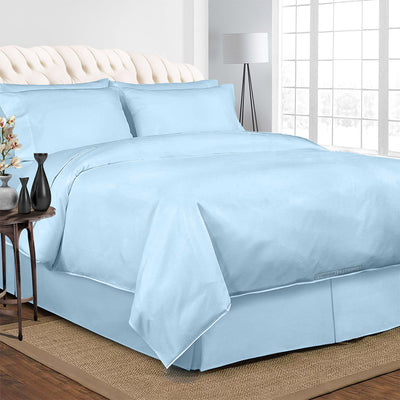 Light Blue Bedding In a Bag Set