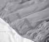 Top Selling light grey Wrap Around bed skirt