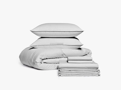 Light grey Luxury Bedding In a Bag
