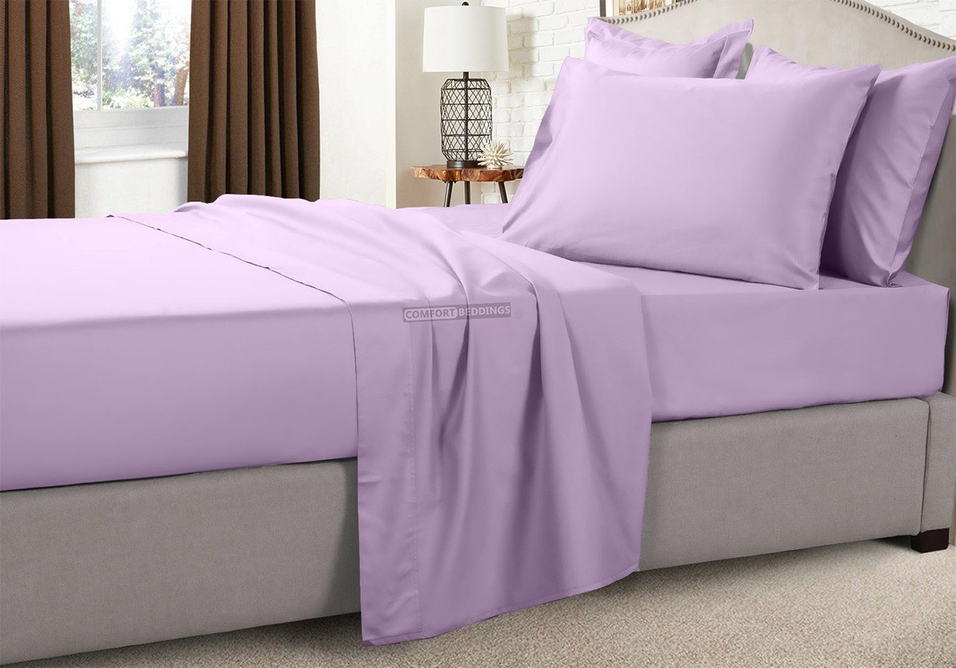 Solid - Luxury 1000TC Lilac RV Bunk Sheet Set