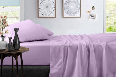 Solid - Luxury Lilac Sheet Set
