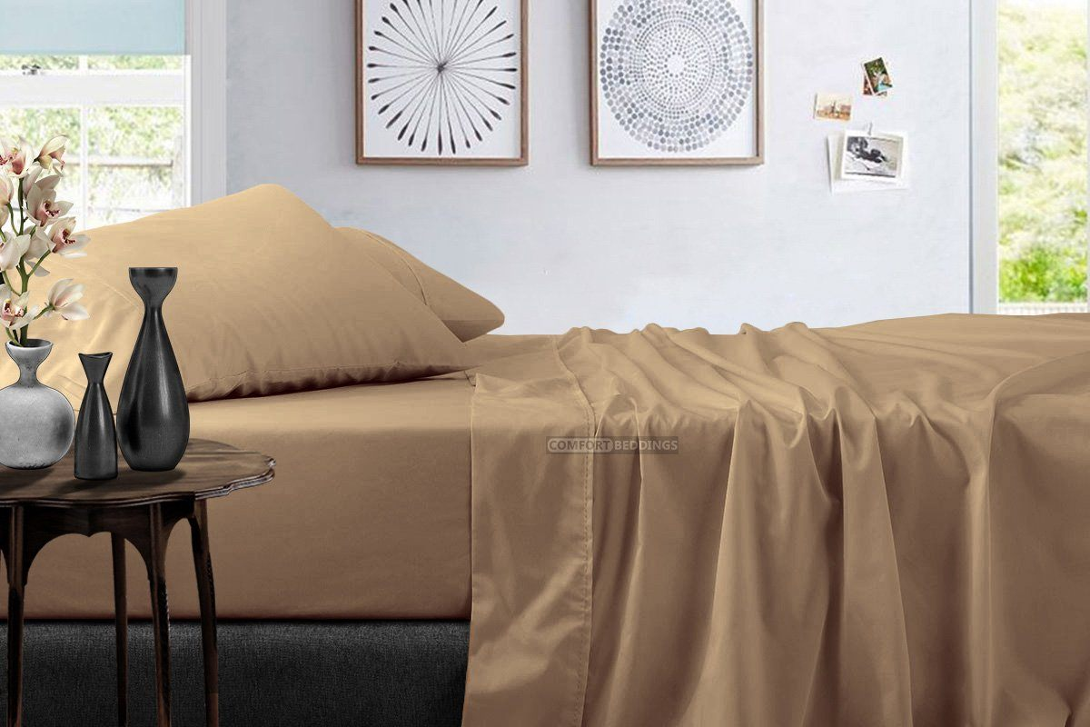 Solid - Luxury Taupe Sheet Set