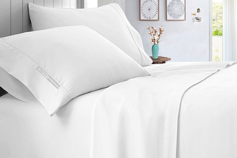 Solid - Luxury White Sheet Set