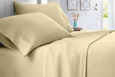 Solid - Top Quality Ivory Sheet Set