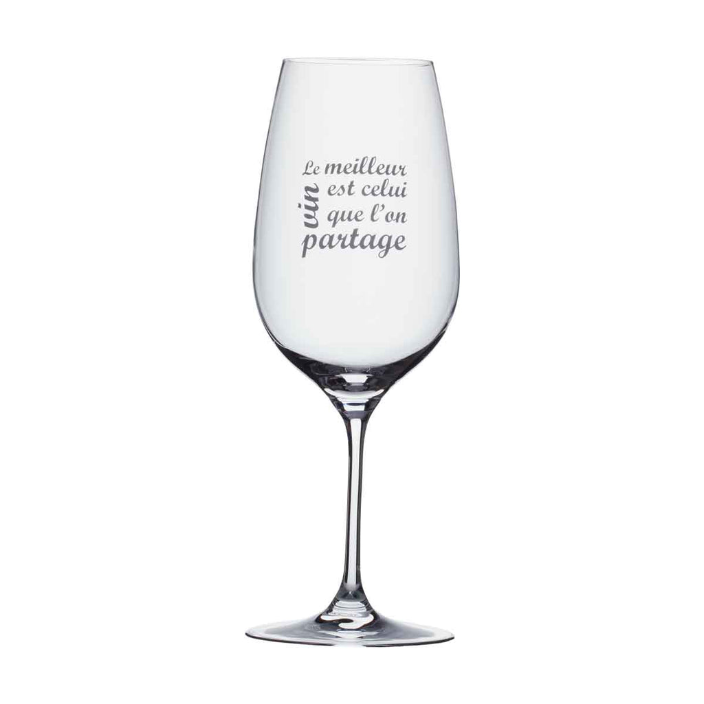 Wine Glass - Le meilleur vin...