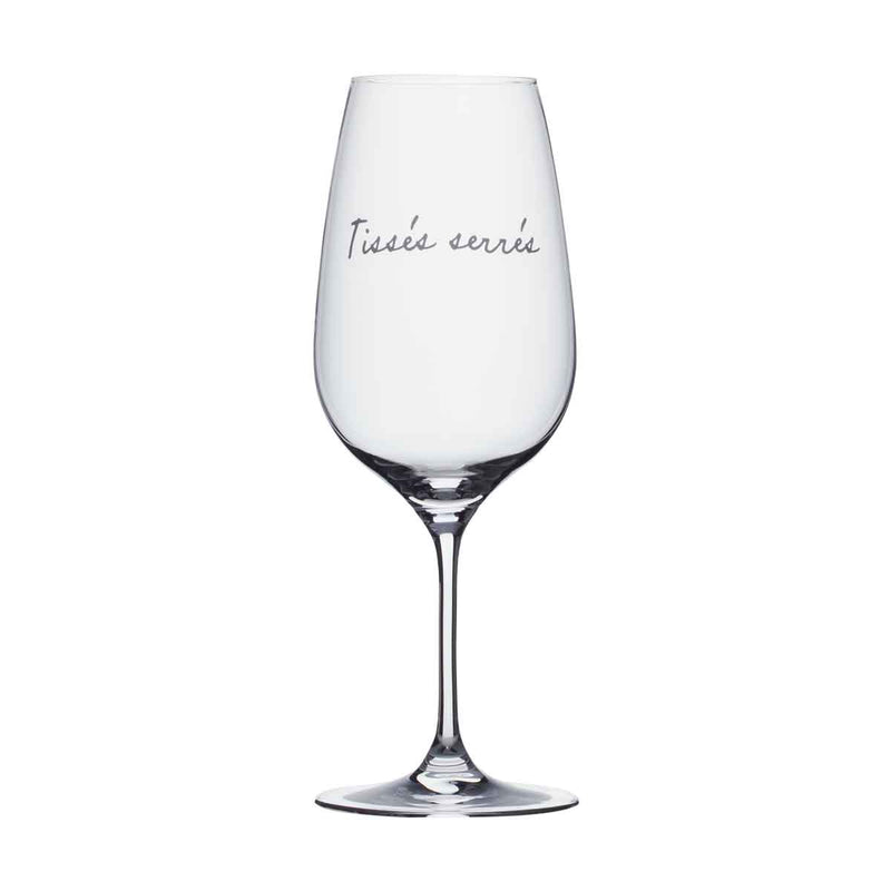 Wine Glass - Tissés serrés
