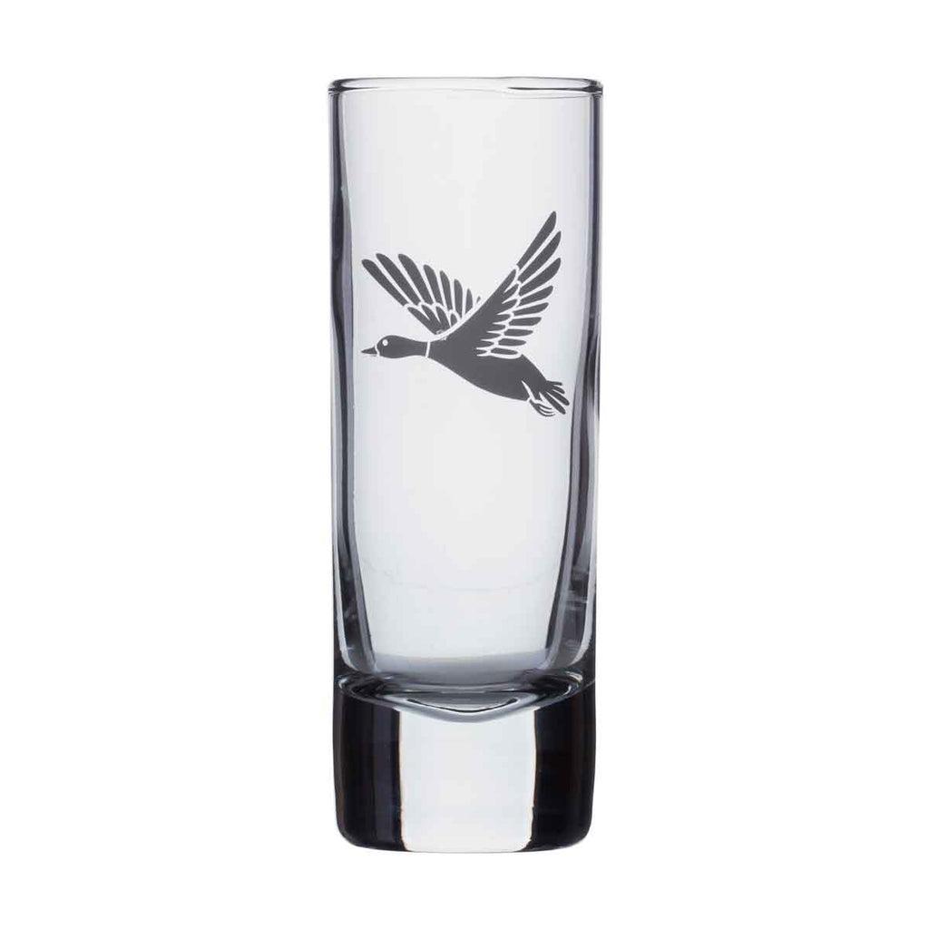 Shot glass - Flying Duck