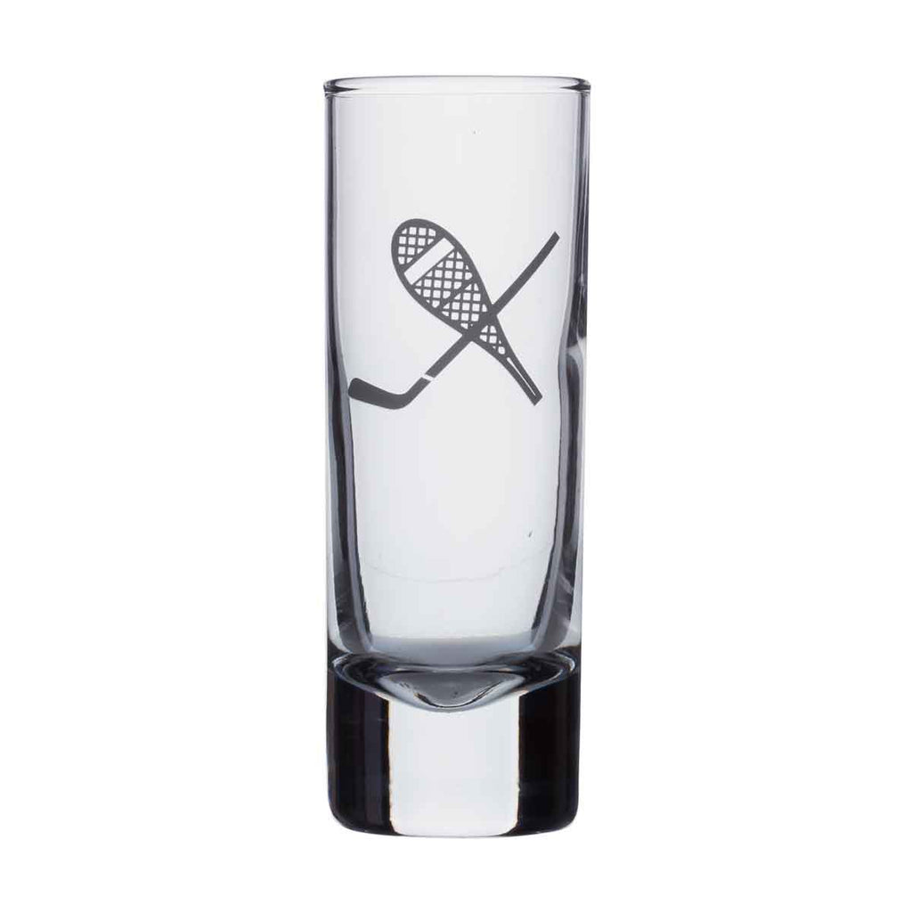Shot glass - Snowshoe / Hockey