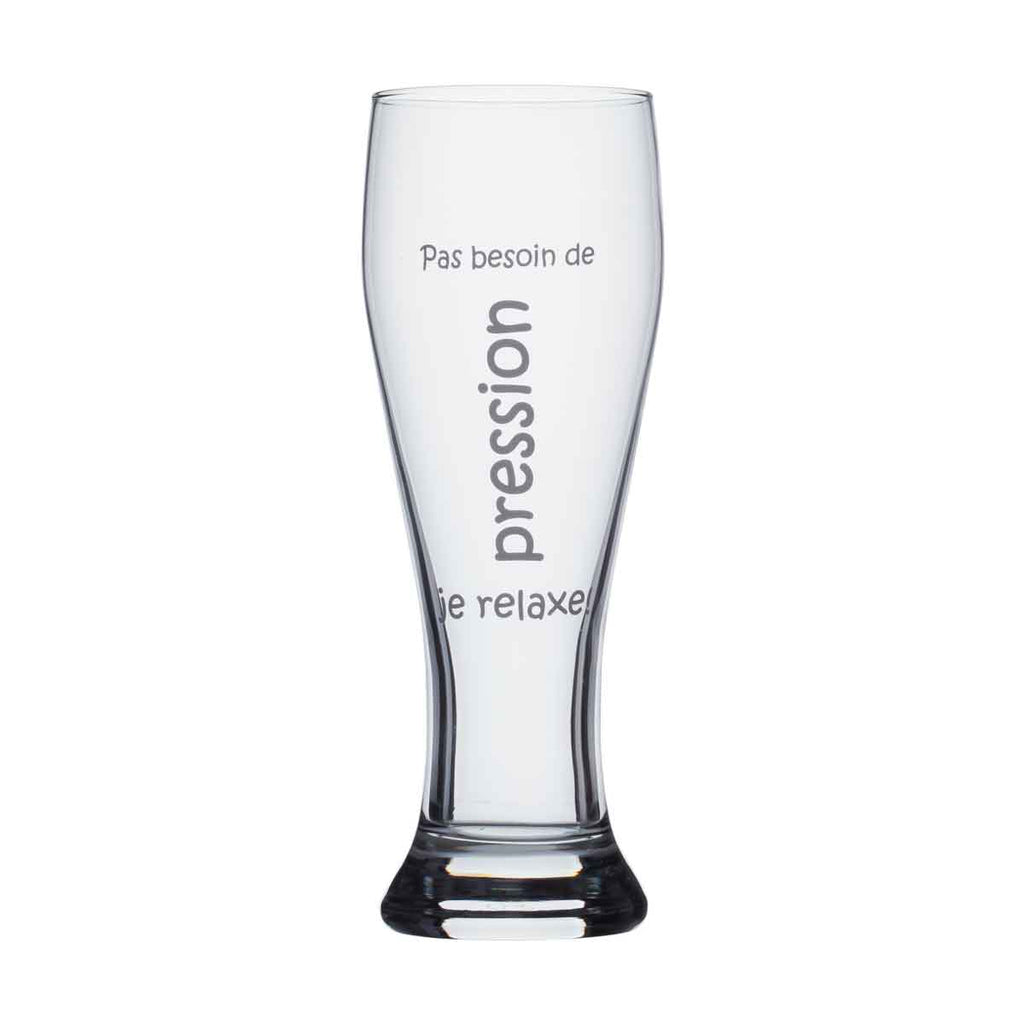 Beer glass - Pas besoin de pression...