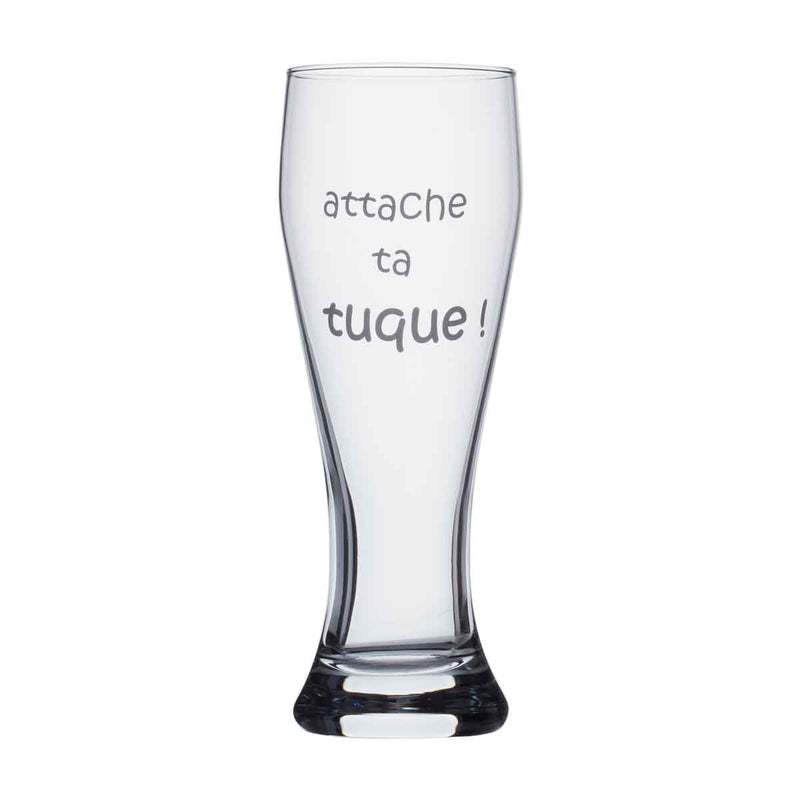 Beer glass - Attache ta tuque