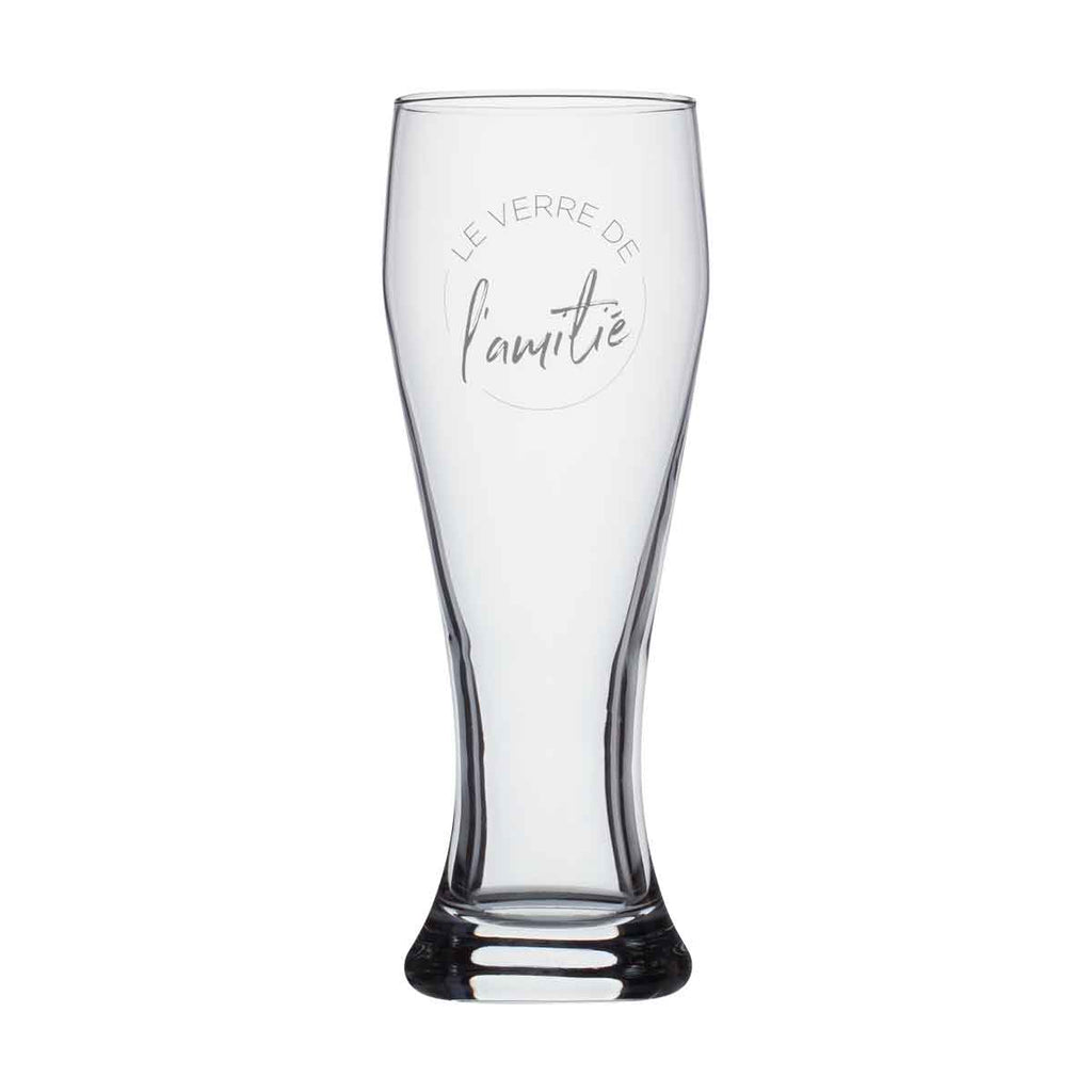 Beer glass - Le verre de l'amitié
