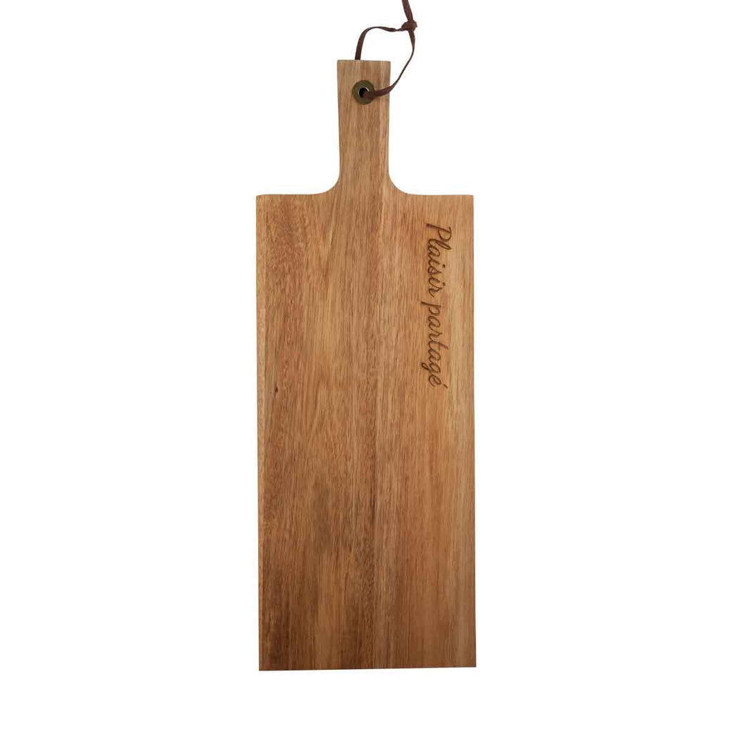 Cutting board with handle - Plaisir partagé