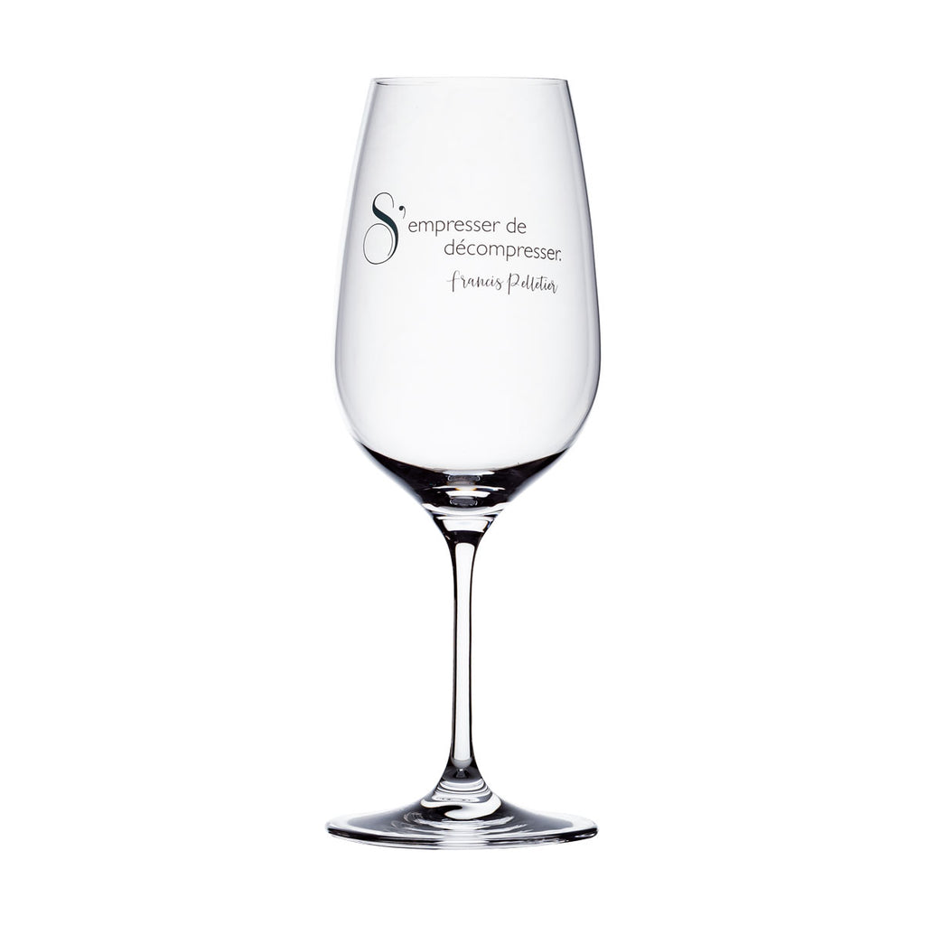 Wine Glass - S'empresser de décompresser