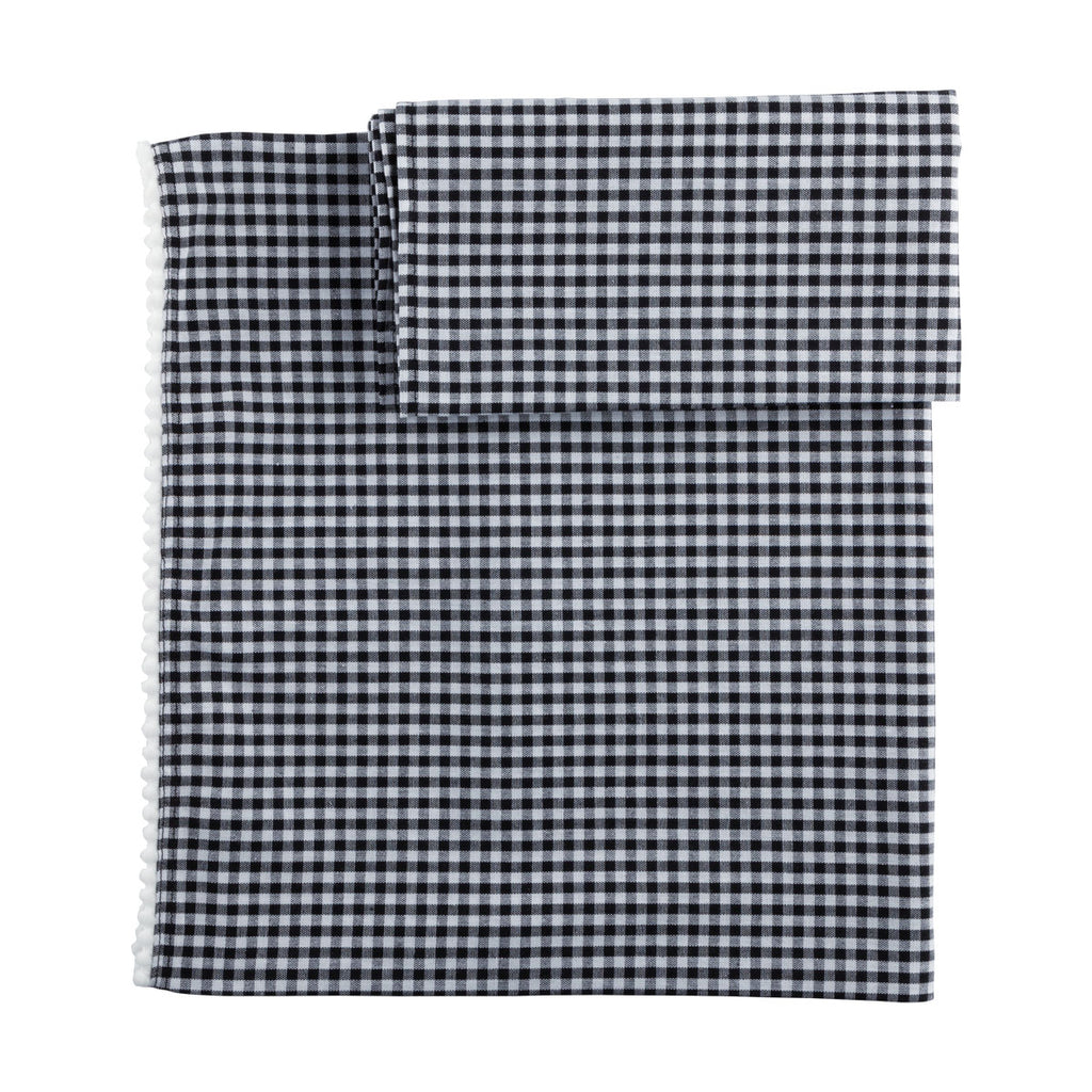 Vis-à-vis - Black Gingham