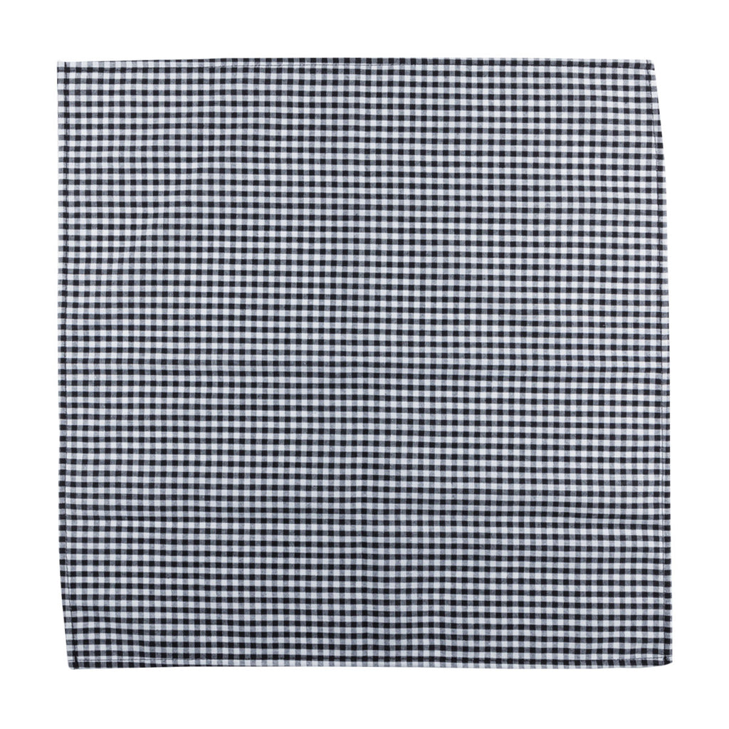 Napkin - Black Gingham