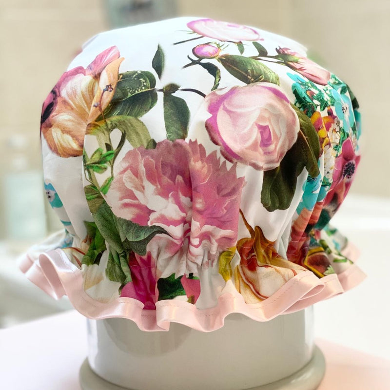 Child's English Garden Luxury Shower Cap