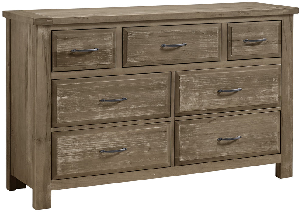 Maple Road Weathered Gray Dresser