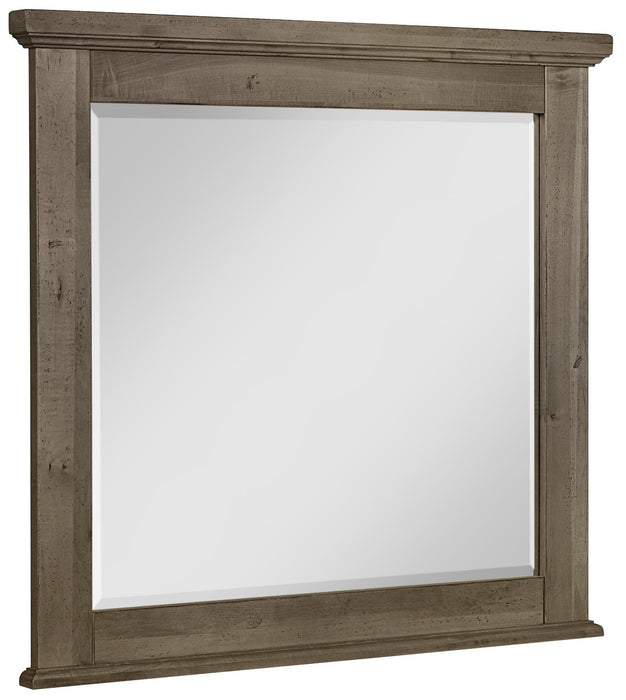 Cool Rustic Stone Grey Mirror