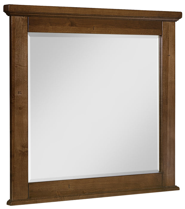 Cool Rustic Amber Mirror