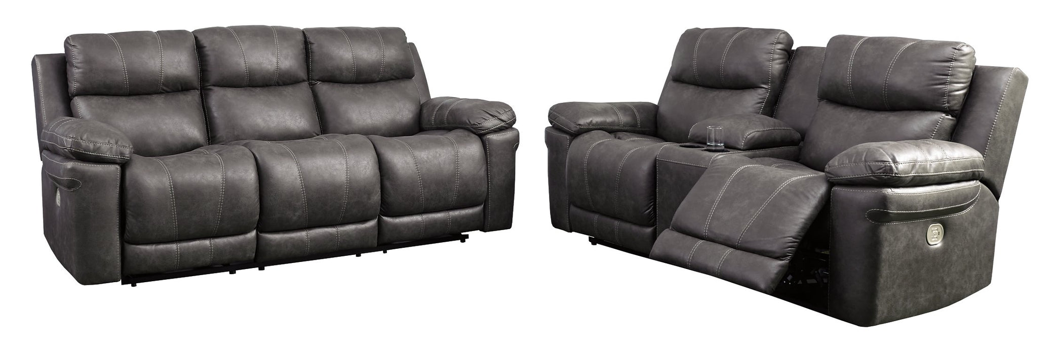 Erlangen Signature Design Contemporary 2-Piece Living Room Set