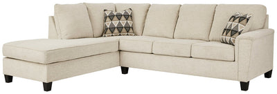 Abinger Millennium by Ashley 2-Piece Sectional with Chaise