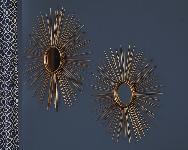 Doniel Signature Design by Ashley Mirror Set of 2