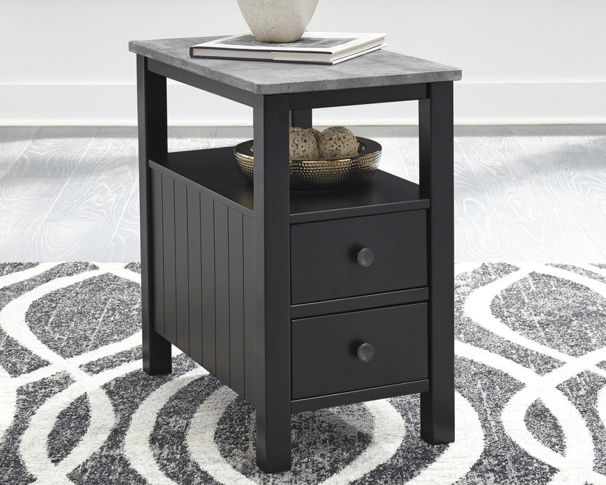 Ezmonei Signature Design by Ashley End Table Chair Side