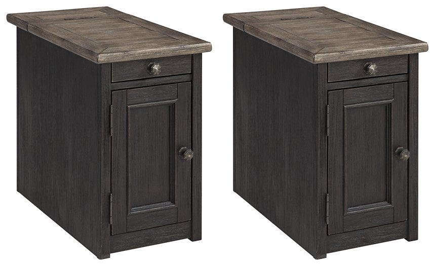 Tyler Creek 2-Piece End Table Set