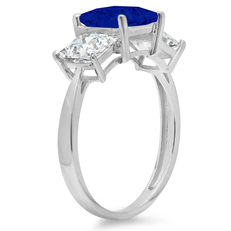 14K/Bluesapphire/158-side