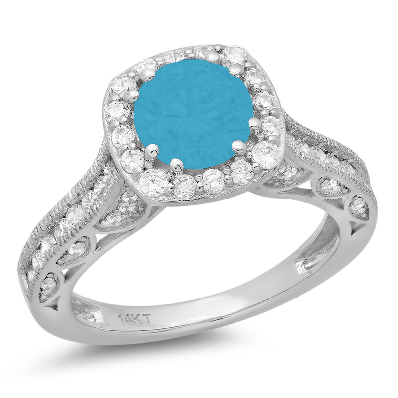 14K/Turquoise/65-front