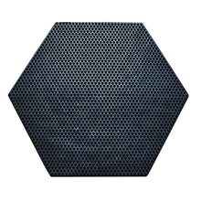 Load image into Gallery viewer, SpaceMat Hexagon- Graphene Enhanced Sustainable Recycled Rubber Doormat