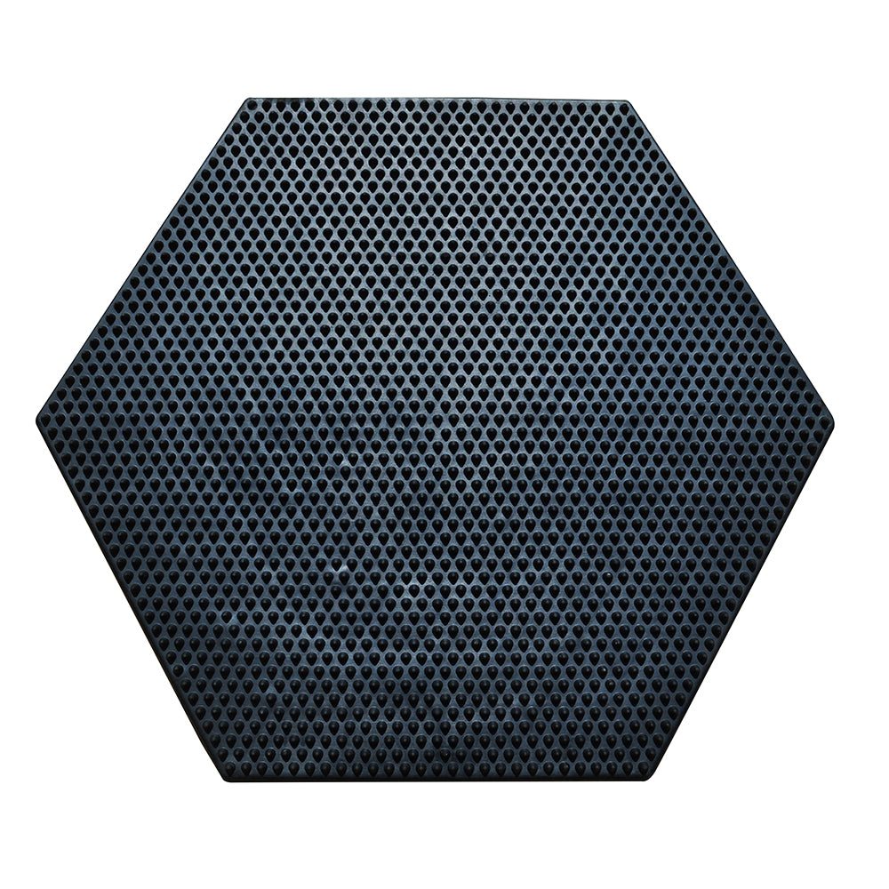 SpaceMat Hexagon- Graphene Enhanced Sustainable Recycled Rubber Doormat