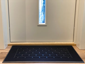 SpaceMat Rectangle- Graphene Enhanced Sustainable Rubber Doormat