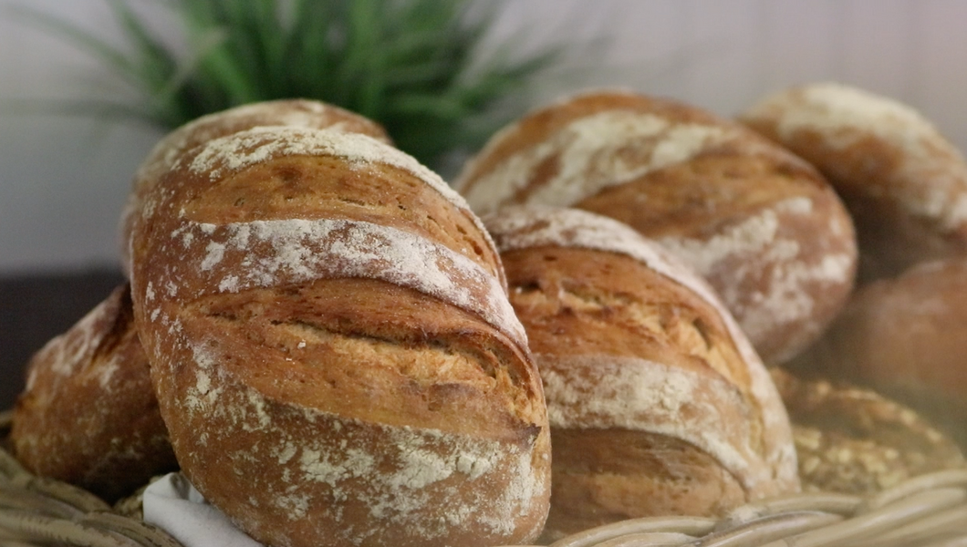 Sourdough Rye Bread made fresh daily without additives preservative fre