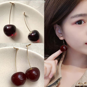 Girl Student Fruit 1Pair Earring Gift