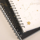 Spiral subject composition notebook