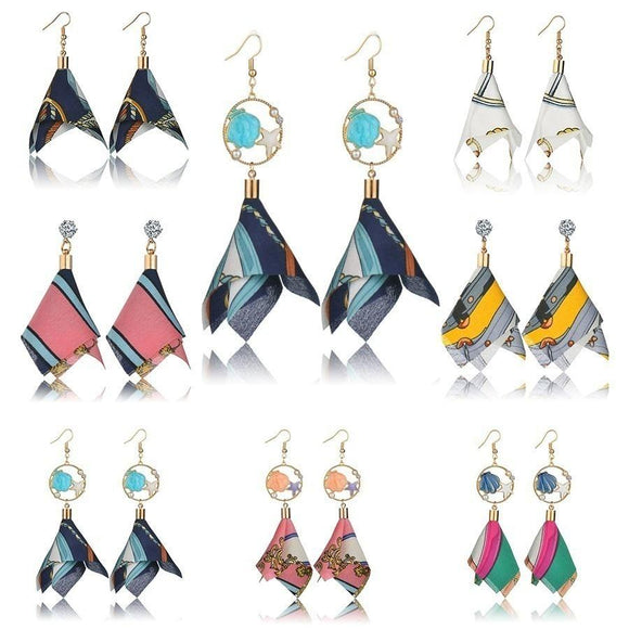 Women Casual Irregular Winter Earrings