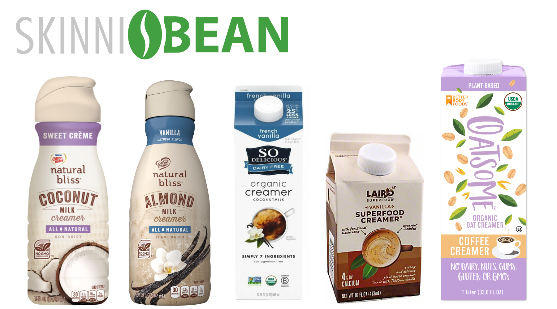 Skinni Creamers - What We Recommend to Keep Your Keto Brew Low Calorie!