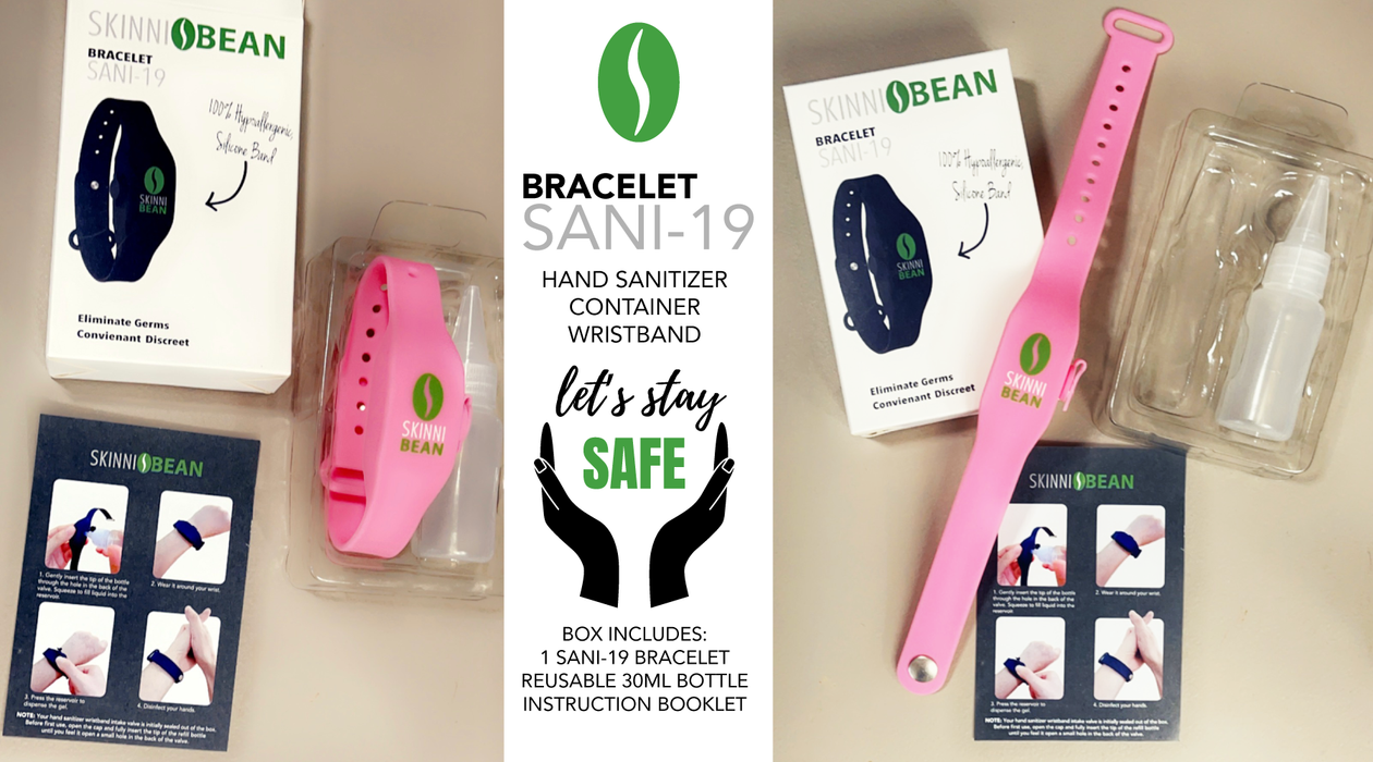 Hand Sanitizer Container Wristband