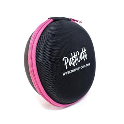 PuffCuff ROUND Hardcover Carrying Travel Case