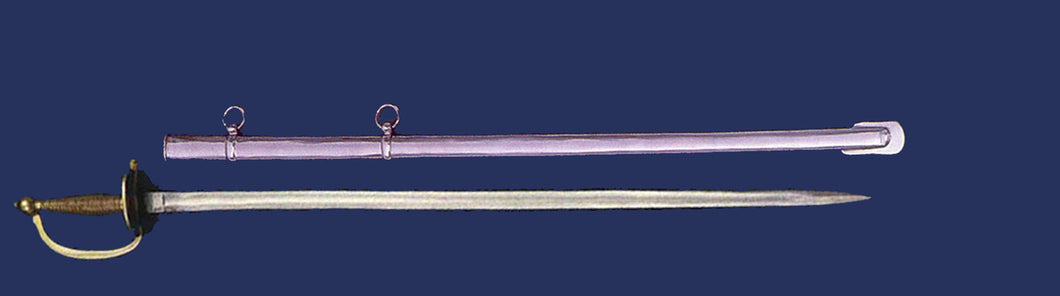 Army NCO Sword with Metal Scabbard(without marking)Z-11