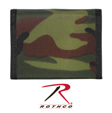 Load image into Gallery viewer, Nylon Wallet - Tri-Fold Commando Style