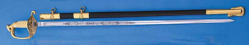 US Coast Guard Officer's Sword (Made in Spain)