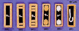 Civil War Shoulder Boards for Chaplain