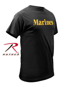 Military T-Shirt - Marines (Officially Licensed)
