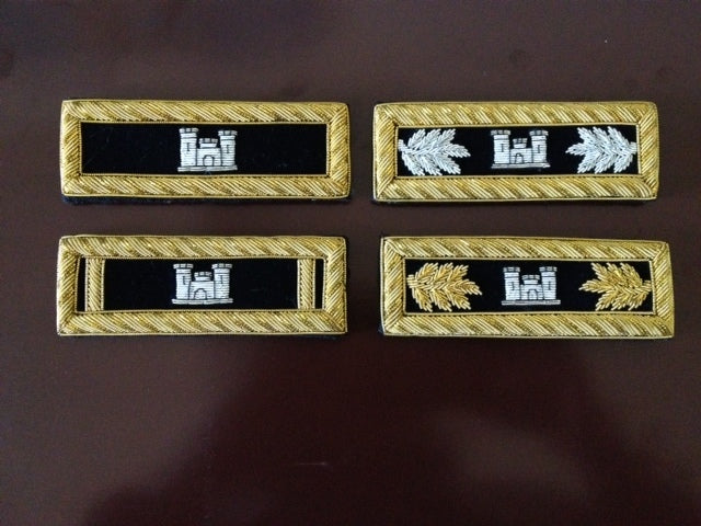 Civil War Shoulder Boards for Army Engineer