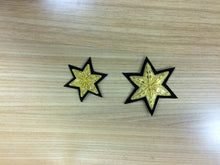 Load image into Gallery viewer, Six Point Embroidered Stars