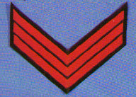 Civil War Chevrons for Sergeant